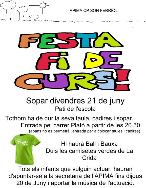 Festa fi de Curs 2012-13